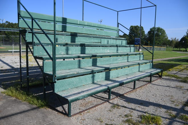 The City of Mountain Home will use a grant from the Arkansas Department of Parks, Heritage and Tourism to replace the bleachers at Clysta Willett Park. The park's bleachers date back several decades, and could quite possibly be 40 years old.