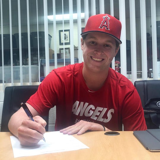 St. James and Auburn alum Davis Daniel signs his professional contract with the Los Angeles Angels in June.
