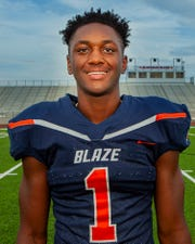 Blackman senior linebacker Keionte Newson.