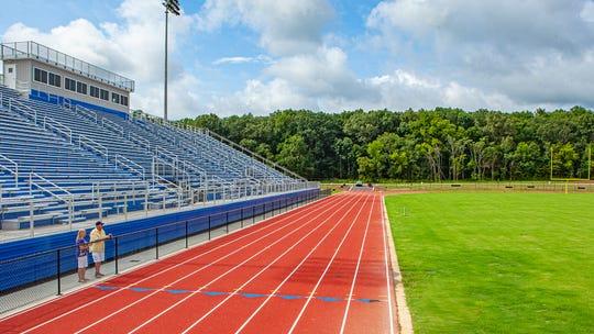 Rockvale High School's football stadium.