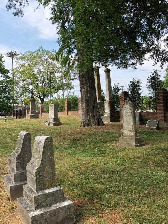 The historical cemetery is home to the graves of prominent Hendersonville families.