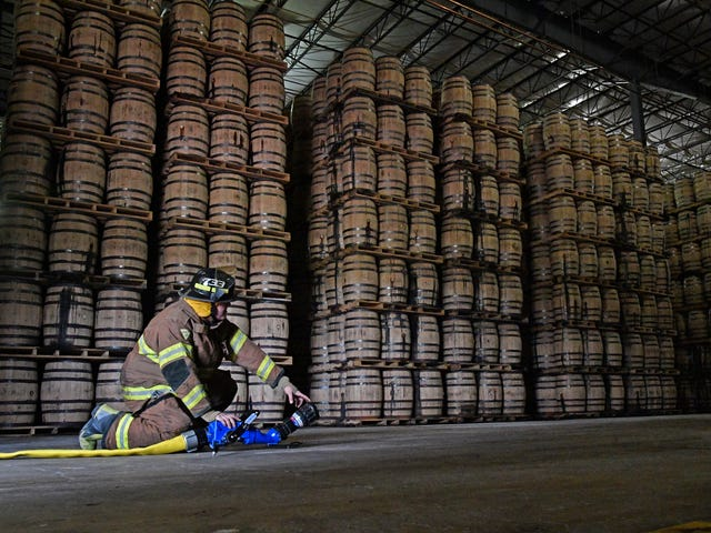 Whiskey fires: How Jack Daniel's protects its distillery, warehouses