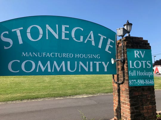 Stonegate Manufactured Housing Community in Mt. Juliet.