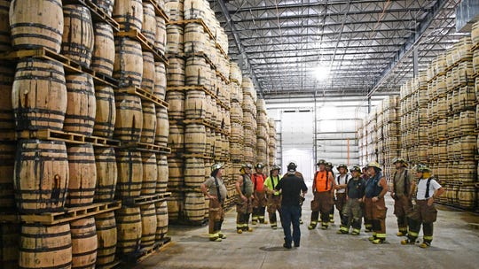 How Jack Daniel's and 34 volunteer firefighters protect the world's supply of its whiskey
