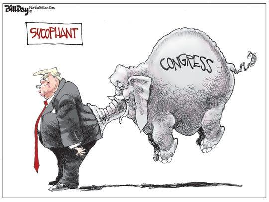 Trump and GOP sycophant.