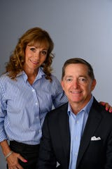 Paul and Kristen Hiltz. He's been chosen as NCH's new CEO in Naples.