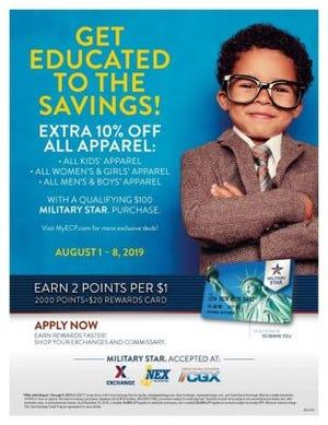 Back-to-School savings at Exchange
