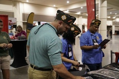 At the 120th VFW National Convention in Orlando from July 20 to July 24, the Army & Air Force Exchange Service spread the word about the change in Department of Defense policy that allows all honorably discharged Veterans to shop military exchanges online. Veterans applauded the benefit, which thanks them for their service while reconnecting them to their military communities.
