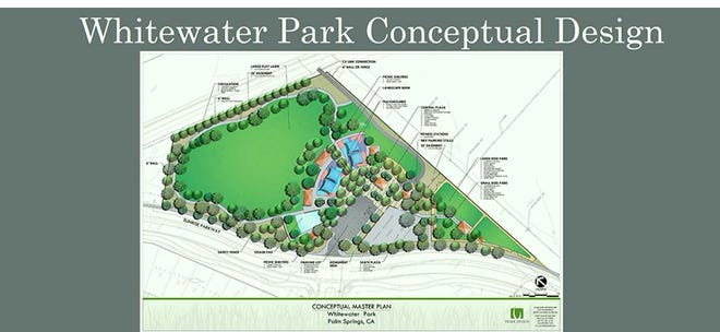 The final conceptual design of the new Whitewater Park that will be submitted to the state of Calif on Aug. 5.