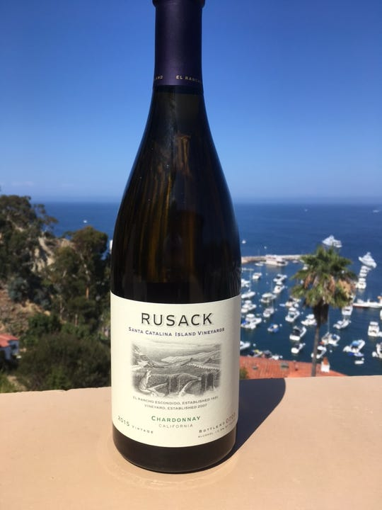 Small vineyard wines like this one from Catalina Island are making inroads.
