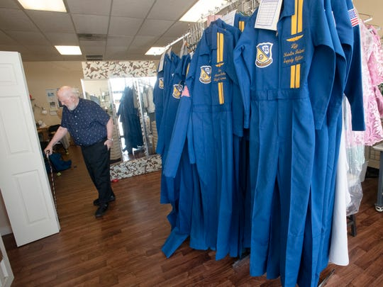 Sam Miller said he plans to retire from creating the Blue Angels flight suits, but not before Cmdr. Brian Kesselring gives final approval to the suit Miller is creating for him. Kesselring will lead the Blue Angels through the 2020 and 2021 seasons.