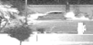 Photo of potential suspects' vehicle.