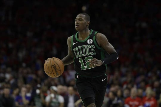 No longer in the shadow of Kyrie Irving, Terry Rozier is out of the Boston and will be the man in Charlotte.