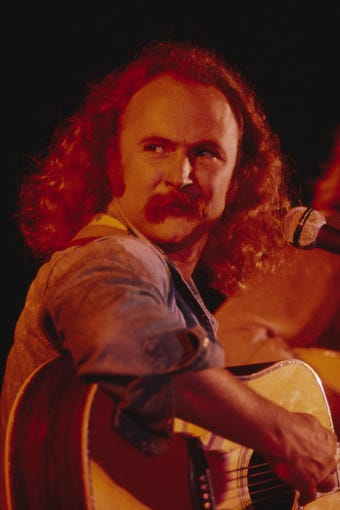 "Vintage footage in ""David Crosby: Remember My Name"" shows the musician in 1974."