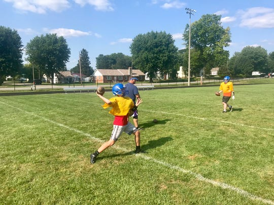 Sophomore quarterback Alex Bertsch