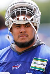 Buffalo Bills defensive linemen Kyle Peko.