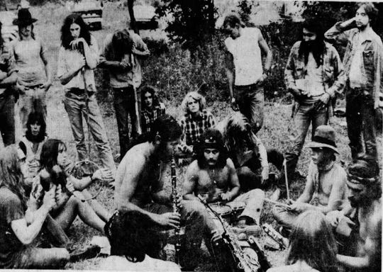 1973: Campgrounds filled up with fans of Grateful Dead, The Allman Brothers and The Band. Fans were waiting the day before the concert.