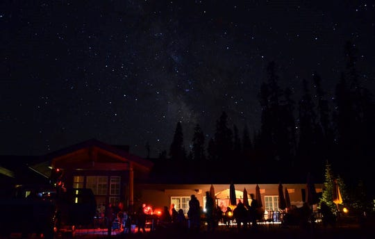 Star party at the Kohm Yah-mah-nee Visitor Center during the Lassen Dark Sky Festival