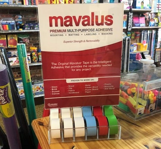 The Mavalus tape costs $4.49 at the Teacher Store.