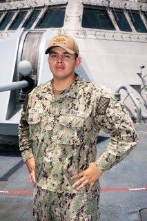 Seaman Ruben Roman