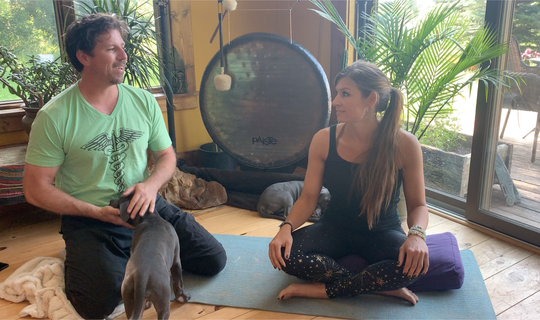 Breathe and Believe co-founders Brian Assam and Alecia Heimes.