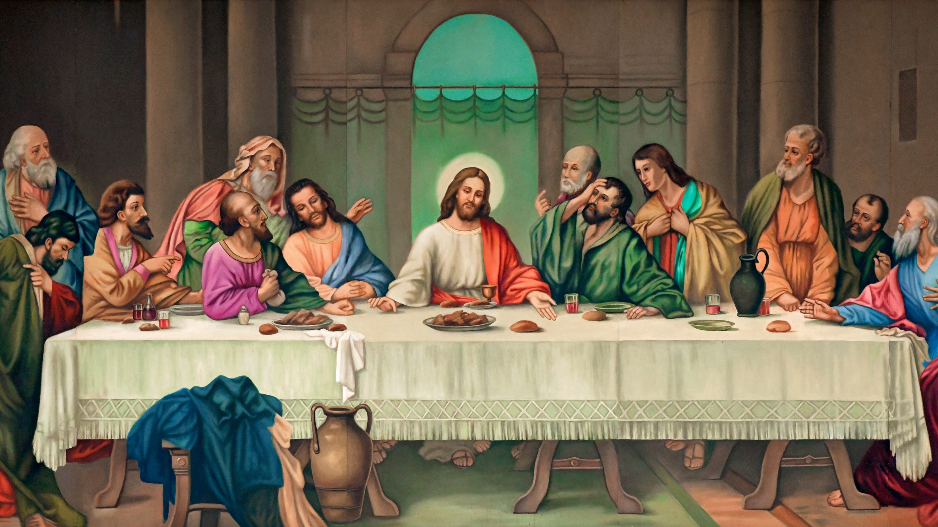 Answer Man: What happened to 'Last Supper' painting at ...