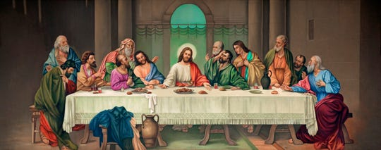 This painting of the Last Supper hung in the cafeteria at Mercy Hospital from 1971 to 2016. A reader asks: Where is it now?