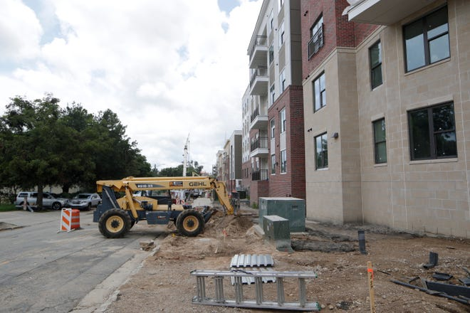 The Standard at Tallahassee, located at the corner of Macomb and Virginia streets, is one of the new student housing complexes expected to open before students arrive for the fall semester.