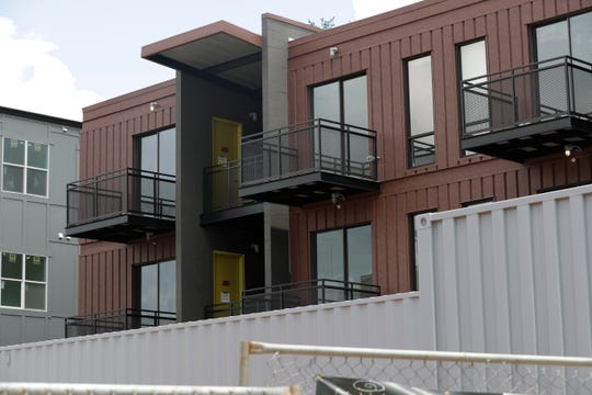Freight Yard, located near the corner of Railroad Avenue and All Saints Street, is one of the new housing complexes expected to open before students arrive for the fall semester.