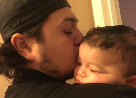 Jeremy Mcaullife leaves behind two children: Robert, 2 and Peter, 5 months old. He was a loving family man, his father said.