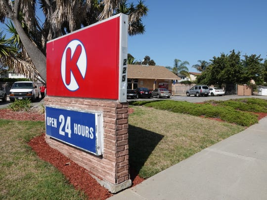 Two Circle K stores in Ventura were robbed by the same man, police reported.