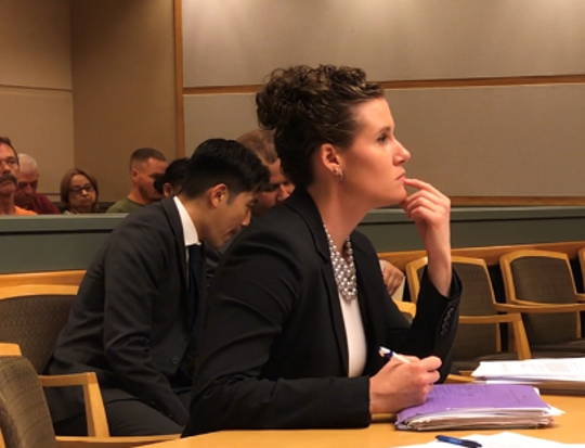 Cumberland County Assistant Prosecutor Meghan Price presented new charges against the defendant in a 2018 hospital sexual assault case on Friday in Superior Court.