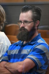 Jonathan Woody was in 30th District Court Friday morning for a pretrial hearing.