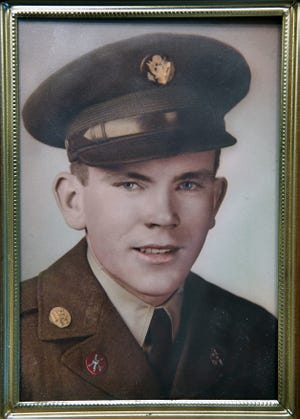 A portrait of Truman Davis who served in the U.S. Army as a member of the 82nd Anti-Aircraft Battalion during the Korean War. Davis was wounded and captured in December 1952, a POW for 32 months. He died this week at the age of 90.