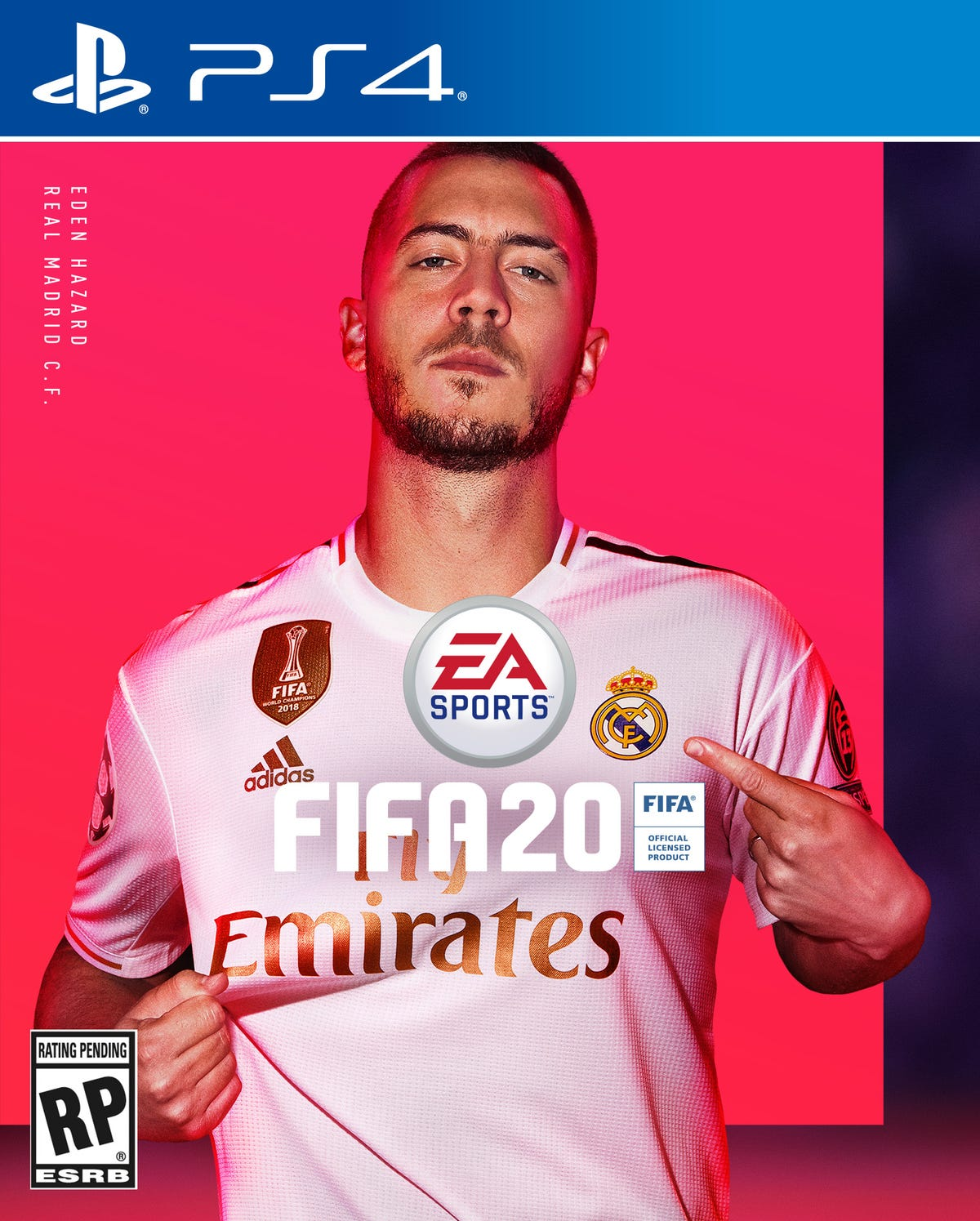 info for 1b4fd 48930 Eden Hazard: FIFA 20 cover 'like a dream' for new Real ...