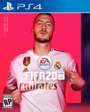 Eden Hazard shown on the cover of FIFA 20.