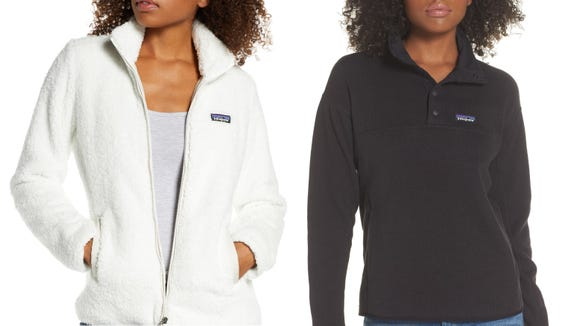 Stay cozy this fall with a Patagonia fleece.