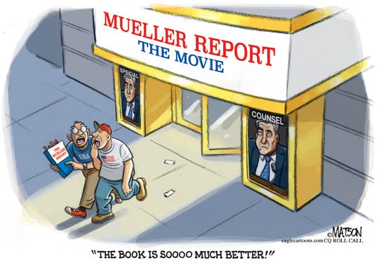 Mueller Report Movie Review