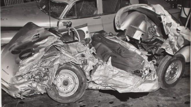 Porsche 550 - accident James Dean