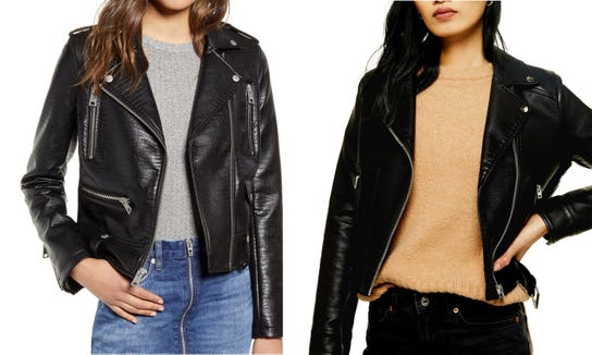 In terms of versatility, you can't beat a classic leather jacket.