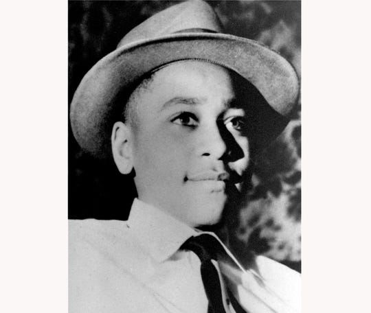 Emmett Till, 14, was murdered in 1955 in Money, MS.