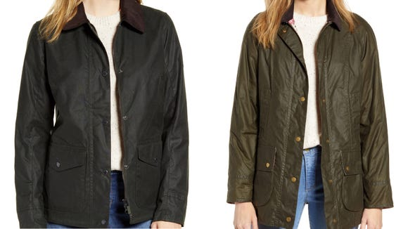 You'll want to live in your Barbour once the crisp weather hits.