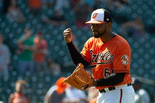 RHP Mychal Givens, Orioles