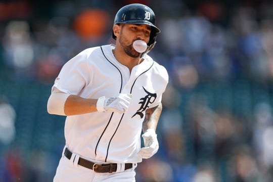 Nicholas Castellanos' days in Detroit could be numbered.