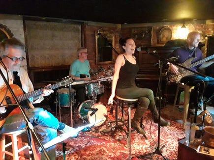 Cuban Heels perform Latin jazz Aug. 2 at Winslow Green on Bainbridge Island.