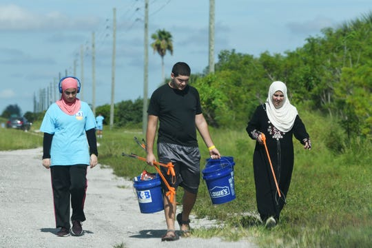 Nearly 120 turned out at Kelly Park for the final event in the Keep Brevard Beautiful Summer Series Cleanup.  Participants picked up trash around the park and along the Beachline