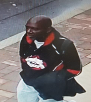 Police want to question this man in connection with a home-invasion robbery that injured an elderly Pennsauken woman.