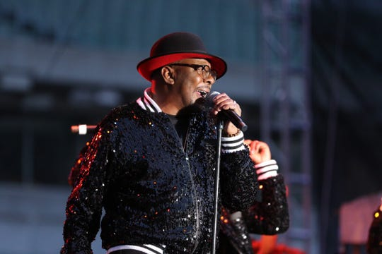 Bobby Brown takes the stage with RBRM Friday.