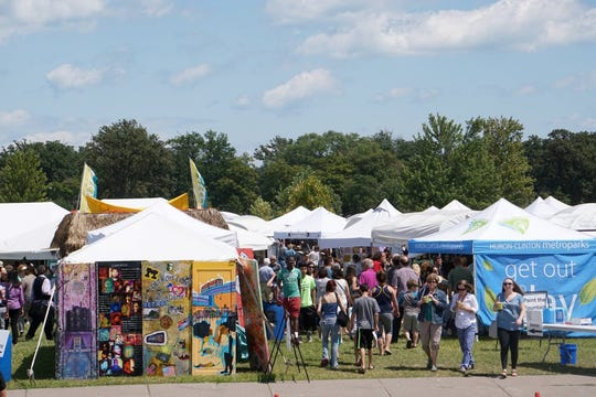 More than 100 exhibitors are expected at the Belle Isle Art Fair.