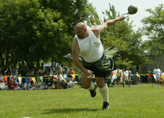 Vigorous athletic events that have their origins in the Scottish Highlands are a key part of the Highland Games